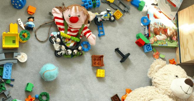 jak naučit děti uklízet